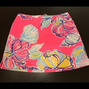 Sweet Lily Pulitzer cotton shorts skirt 2
